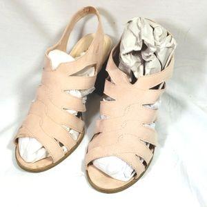 Chunky heels by dexflex comfort size 9